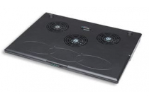 MH Notebook Cooling Pad black USB 3 fans slim