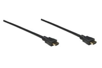 High Quality High Speed Pro HDMI Cable 3D, HDMI Male to Male, Shielded, Black, 5.0 m (16 ft.)