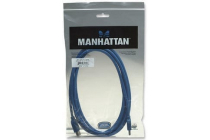 MH USB 3.0 Superspeed Cable A-A Ext 2m Blue, Polybag