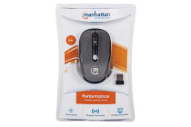 Performance Wireless Optical Mouse USB 4 Button 2000 dpi