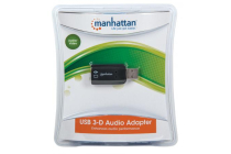 Hi-Speed USB 3-D Sound Adapter – Improves audio access and performance