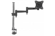 LCD Monitor Pole Supports one monitor, double-link swing arm. SRP €79.99