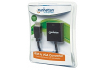 HDMI Male to VGA Female Converter, black SRP €37.99