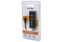 imPORT Hub OTG Card Reader (SD, mSD, MMC)& 3 Port USB Hub
