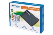Drive Enclosure Hi-Speed USB 2.0, SATA, 2.5″, Black