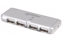 MH Hi-Speed USB 2.0 4 Port Pocket Hub Bus Power