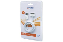 MH USB iPod/iPhone/iPad 30 Pin Charger Cable, 1.2 m, white, MCC
