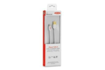 Ednet Apple CERTIFIED iP5 cable, Apple 8pin – USB A, 3.0M 15 YEAR WARRANTY