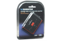 Hi-Speed USB to SATA/IDE Adapter 3-in-1 with One-Touch Backup