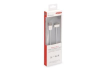 Ednet Apple CERTIFIED Sync/Charger Cable, Apple 30pin – USB A, 1m