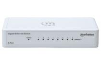 8 Port Gigabit Switch Intellinet 802.3az Energy Efficient
