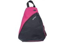MH Dashpack Tablet Slingbag, Black & Pink, Fits 12 in.