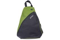 MH Dashpack Tablet Slingbag, Black & Green, Fits 12 in.