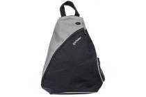 MH Dashpack Tablet Slingbag, Black & Grey, Fits 12 in.