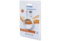 iLynk Lightning Cable A Male / 8-Pin Male, 1 m (3 ft.), White