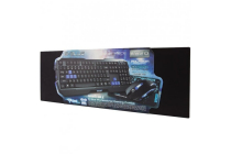 Gaming Kit – Keyboard Mouse (1600 dpi) & Mouse Mat