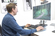 DIGITUS Ergonomic Sit-Stand Workstation for Desktop Mount