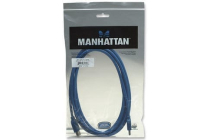 MH USB 3.0 Superspeed Cable A-A Ext 3m Blue Polybag