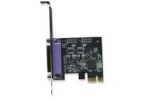 Parallel PCI Express Card One port, x1 lane.Windows 2000/XP/Server 2003/Vista/7/8 32/64 bit