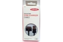 Ednet Samsung SYNC/CHARGER CABLE, Samsung 30pin – USB A, 1m