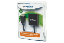 HDMI Male to VGA Female Converter, black SRP €37.99