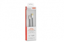 Apple iP5 CERTIFIED Lightning PREMIUM Braided cable, 8pin – USB A, M/M, 1.0m 15 Year Warranty