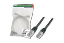 0.5m Digitus Professional Cat5 Black 0.5m Patch Cable