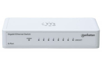 8 Port Gigabit Switch Intellinet 802.3az Energy Efficient
