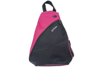 MH Dashpack Tablet Slingbag, Black & Pink, Fits 12 in.
