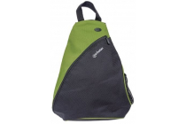 MH Dashpack Tablet Slingbag, Black & Green, Fits 12 in.