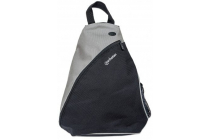 MH Dashpack Tablet Slingbag, Black & Grey, Fits 12 in.