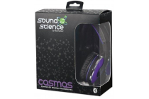 Sound Science Cosmos Comfort-Fit Bluetooth Headphones Purple