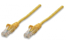Network Cable Cat 5e UTP 3m Yellow CCA Snagless