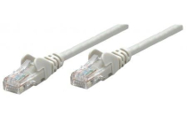 INT 7.5m Patch Cable Cat 6e UTP Grey Bag CCA Snagless
