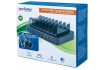 Manhattan 10-Port USB Charging Station