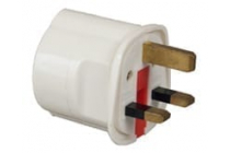 Travel Adapter Euro Schuko to UK 13Amp.