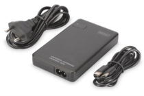 DIGITUS Universal Notebook Charger, USB Type C, 60 W