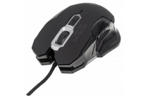 Gaming Mouse 2400dpi Six Button Scroll Wheel Black