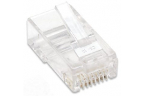 Intellinet Modular Plug RJ45. Cat5. UTP. for standard wire. 100 pcs.
