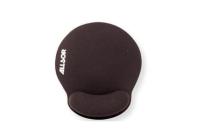 Allsop Gel Mouse Pad with Mini W/rest – Black