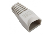 Cable Boot for RJ-45 Plugs Grey