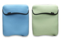 MH Notebook Neoprene Pouch 10in Green/Blue Reversible
