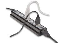 USB 2.0 10 Port Hub Dual Powered
