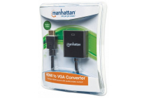 HDMI to VGA Converter with Audio- HDMI Male to VGA Female