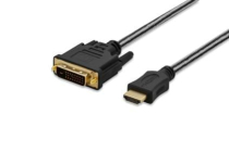 HDMI to DVI Adapter Cable, Type A – DVI(24+1), FULL HD 5m