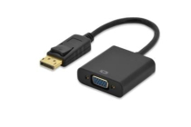 DisplayPort to VGA Adapter CableDP – HD15 VGA M/F 0.15m