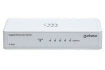 5 Port Gigabit Switch Intellinet 802.3az Energy Efficient