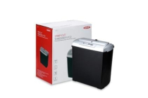 ednet Shredder S7CD, 7-Sheet CD/DVD/ Bank Card, Strip-Cut