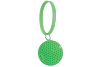 Sound Science Atom Glowing Wireless Mini-Speaker with Bluetooth Technology and Rhythmic LED Lighting Effects, Green
