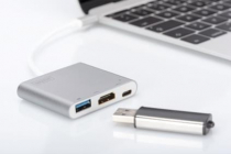 USB 3.0 Type-C HDMI Multiport Adapter with Power Delivery